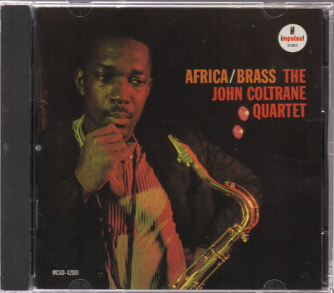 The John Coltrane Quartet - Africa Brass Volumes 1 & 2 (Out Of Print) (Graded:EX/NM)