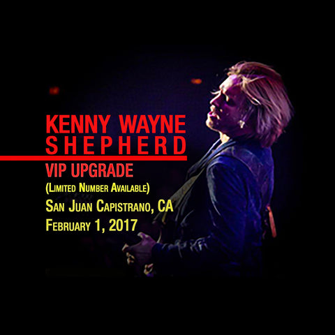 KWSBand VIP UPGRADE - San Juan Capistrano, CA Feb. 1, 2017