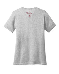 """The Traveler""  Ladies V neck T-shirt"