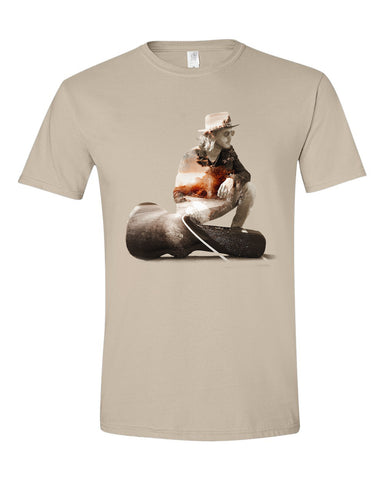 """The Traveler""  Mens T-shirt"