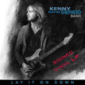 LAY IT ON DOWN - Signed Vinyl LP - FREE SHIPPING (U.S.)