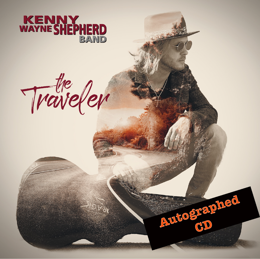 "The TRAVELER - Exclusive Limited Edition Autographed ""CD"""