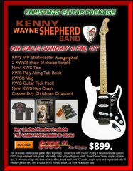 KWS VIP CHRISTMAS GUITAR PACKAGE ON SALE NOW!!