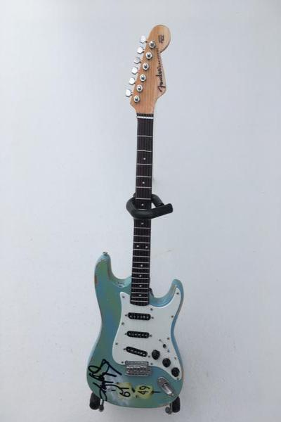 Autographed Miniature Replica of Kenny's Crossroad Strat