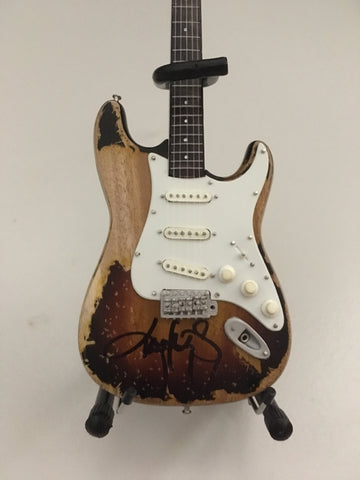 Autographed Miniature Replica of Kenny's Iconic '61 Fender Stratocaster