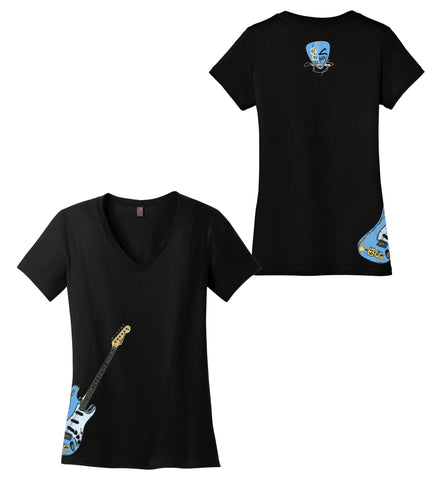 "Bella ""Ladies"" KWS Crossroads Guitar Wraparound T-Shirt"