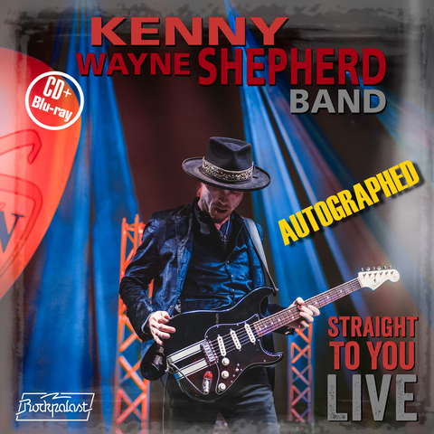 Straight To You LIVE - autographed Kenny Wayne Shepherd CD Blu-ray concert video