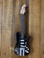 Autographed Miniature Replica of Kenny's Racing stripes Guitar