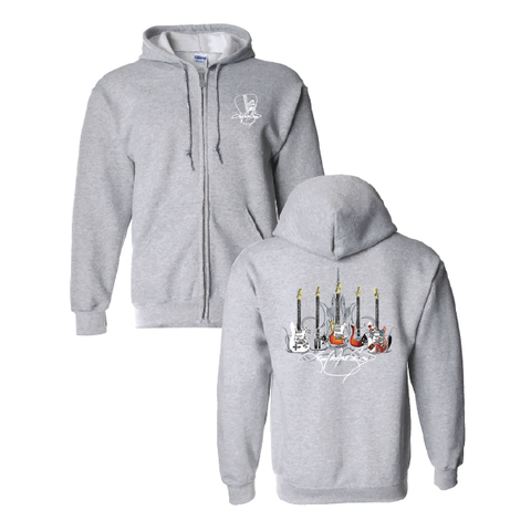 KWS Signature Series - Light Grey very Light Weight Hoodie