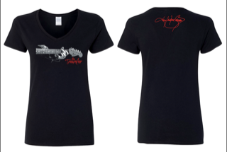 "Ladies ""The Traveler"" G Chord V-neck"