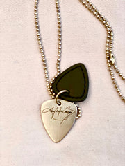 Stainless steel KWS Pick Necklace