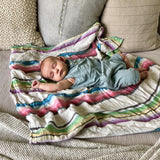 Rainbow Swaddle (temporarily out of stock)