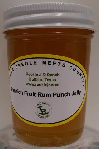 Passion Fruit Rum Punch Jelly