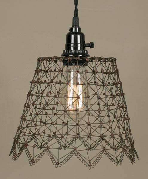 French Wire Pendant Lamp