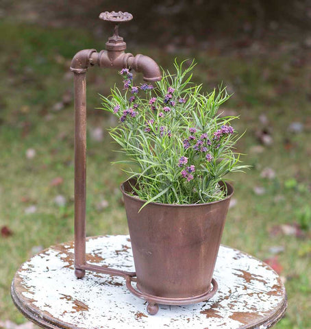 Faucet Table Top Planter