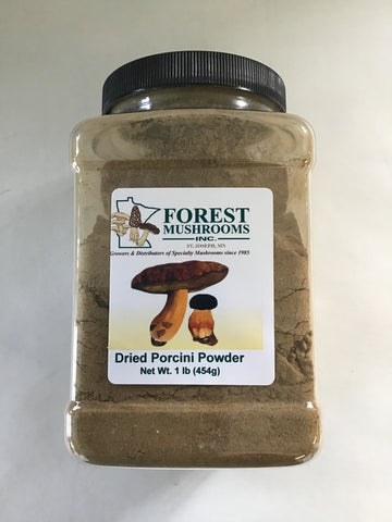 Porcini Powder - 1 lb jar<br>(Dried Porcini Mushroom Powder)