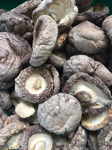 Dried Shiitake European Mushrooms, whole (bulk)