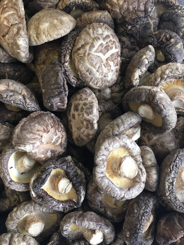 Dried Organic Shiitake Mushrooms, whole (bulk)