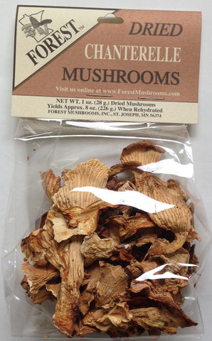 Dried USA Gold Chanterelles