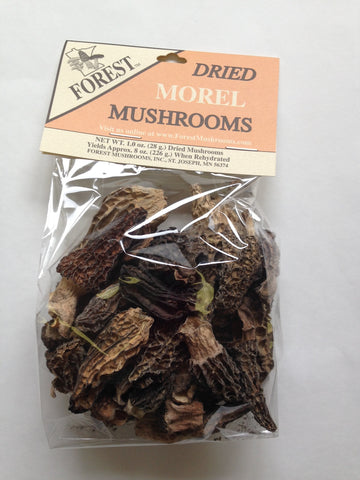 Dried USA Morel Mushrooms