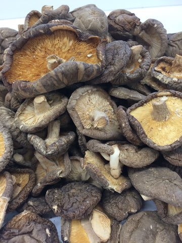Dried Shiitake Mushrooms, whole (bulk)