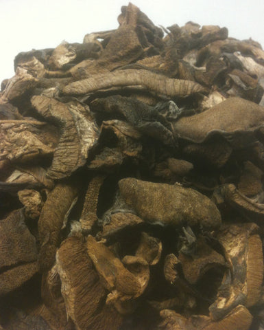 Dried Slippery Jack<br> <i>Boletus luteus</i> (bulk)