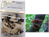 Dried Wood Ear Mushrooms, whole