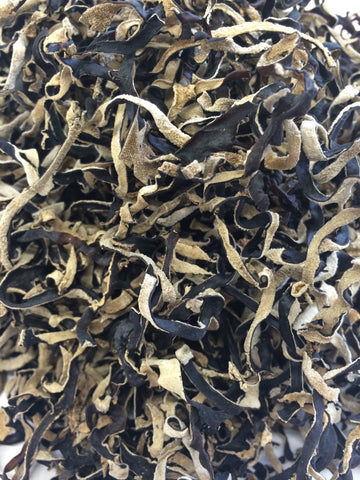 Dried Wood Ear Mushrooms, shredded (bulk)