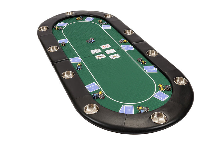 Riverboat gaming poker table poker big small dealer