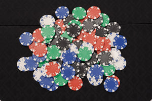 Dice Poker Chips Set - 500 Piece Poker Set in Carry Case (Free Extras)