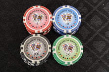 Tournament Poker Chips - 500 Piece Numbered Poker Set (Free Extras)
