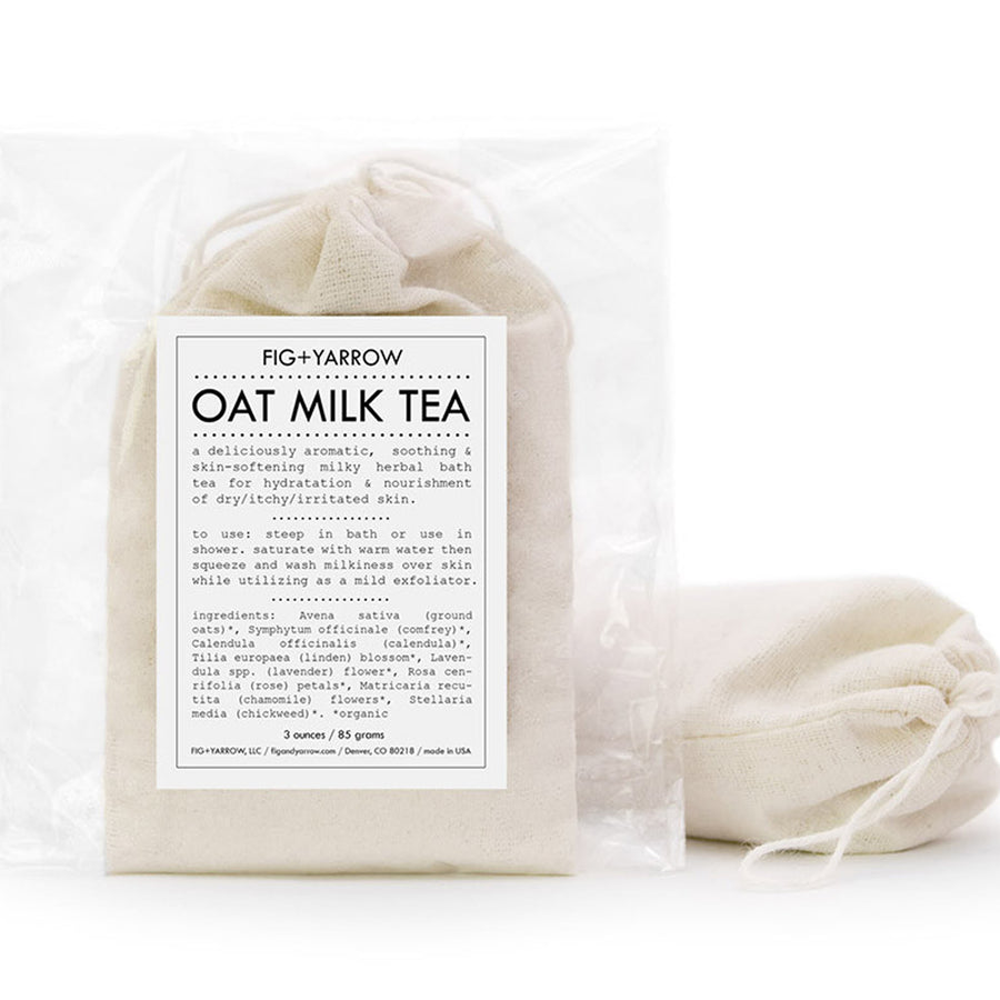 Oat Milk Bath Tea & Exfoliator