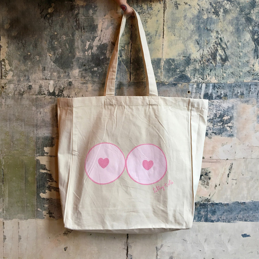 Titty Tote Bag