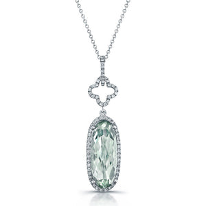 Diamond Gemstone Pendant