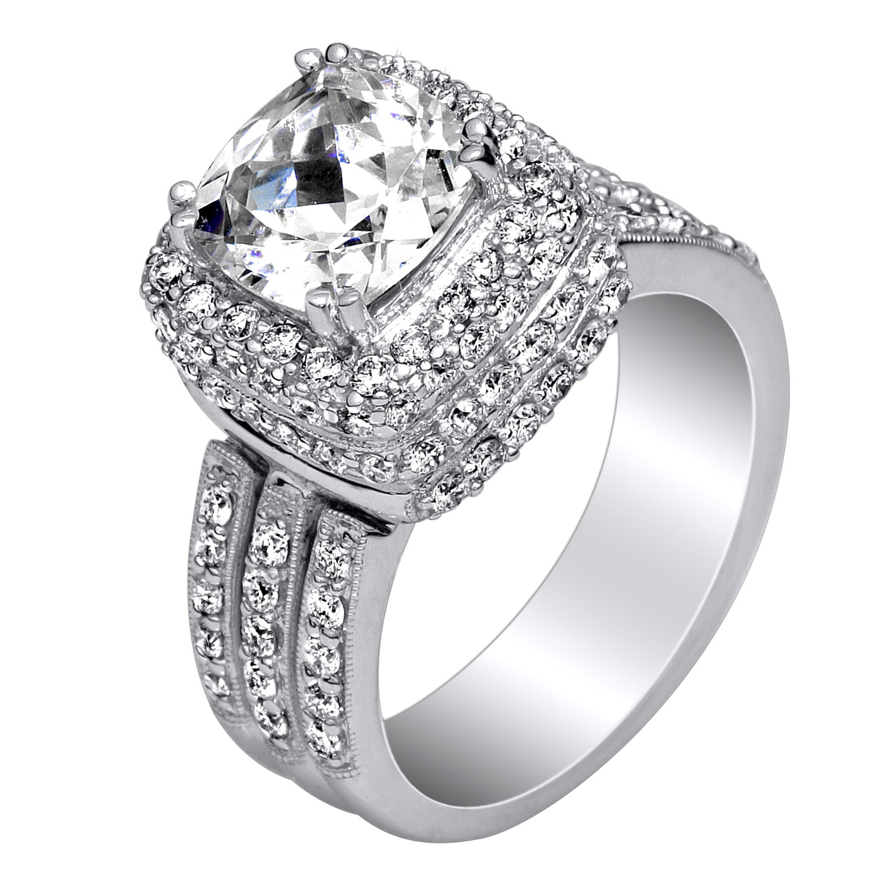 engagement products fancy radiant diamond ring rings diamonds carat platinum gold yellow cut
