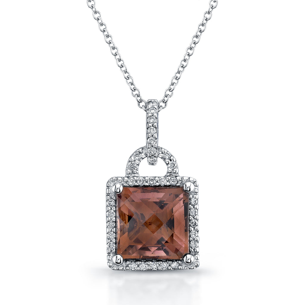 david products jewelry pendant garnet garnetshopify cut princess s antiques