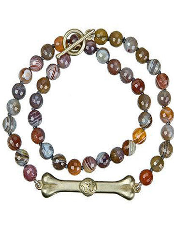 Double Wrap Bodhi Bar Bracelet- Multicolor