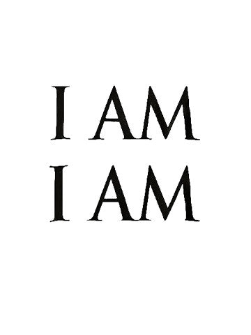 """I Am I Am"" Short Sleeve Tee"
