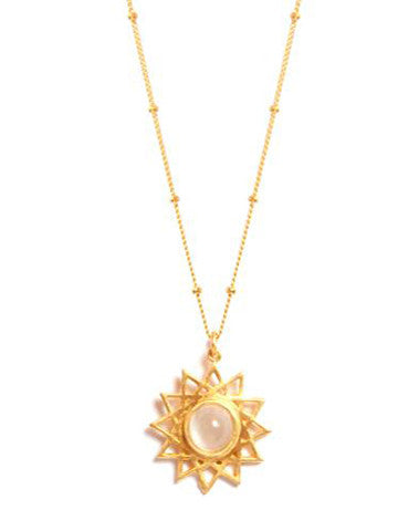 Dodecagram Necklace Vermeil