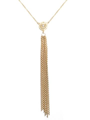 Sri Yantra Tassel Necklace
