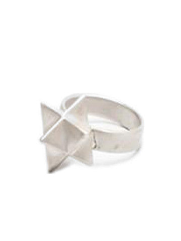 Sacred Geometry Star Ring-Silver