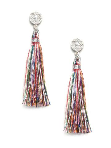 Tassel Earrings Multicolored