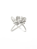 Lotus Ring, Sterling Silver