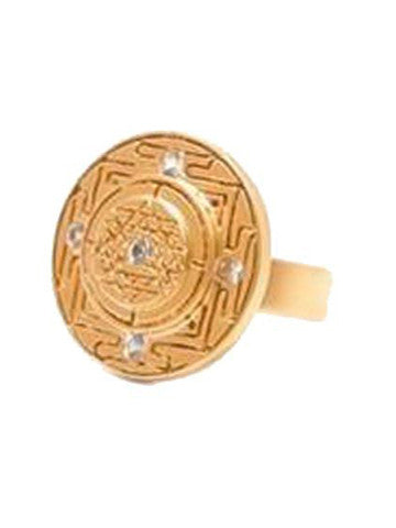Sri Yantra Ring-Vermeil