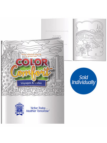 National Senior Health & Fitness Day® Coloring Book for Adults