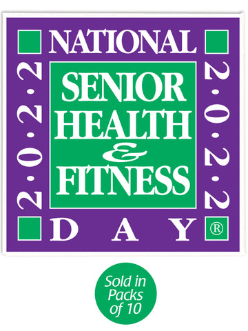 National Senior Health & Fitness Day® Buttons