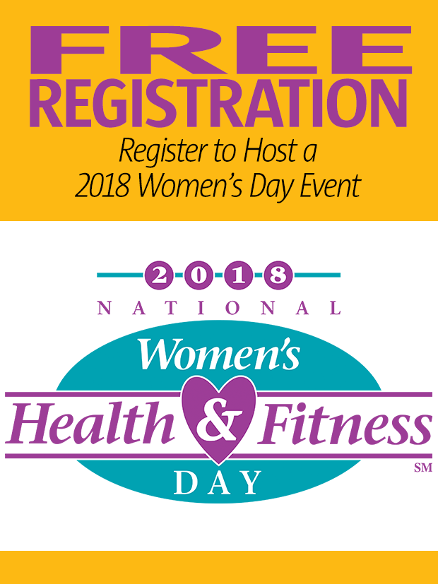2018 National Women's Health & Fitness Day Free Event Registration