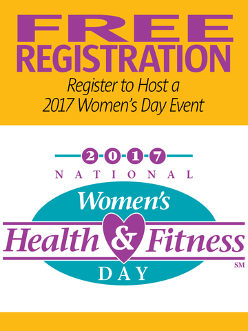 2017 National Women's Health & Fitness Day Free Event Registration