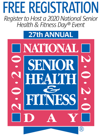 2020 National Senior Health & Fitness Day® Free Event Registration
