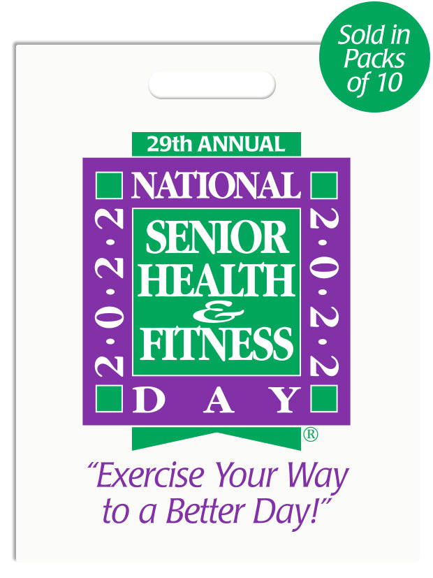National Senior Health & Fitness Day Handout Bags